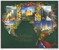 CEPT 2004 Ukraine Oekraine Yvertn° Bloc 41 *** MNH Cote 5 Euro - Europa-CEPT