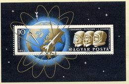 HUNGARY 1962 Space Flight  Block MNH / **.  Michel Block 33 - Blocks & Sheetlets