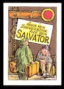 Heute Kein Zugverkehr Alle Beim Salvator / Postcard Circulated - Humour