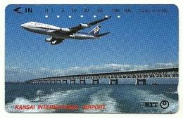 Giappone - Tessera Telefonica Da 105 Units T208 - NTT, - Avions