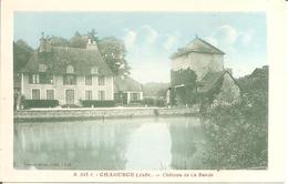 CHAOURCE (10) Château De La Bande En 1936 - Chaource