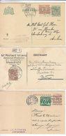 Netherlands: 3 Postcards, With Messages, 1920, 1922 & 1926 - Netherlands