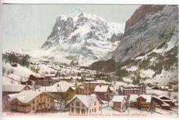 Switzerland: Grindelwald; Grindelwald To Putney, London, 24 January 1911 - Unclassified
