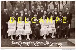 ALGRANGE - Confirmation Au Temple Protestant En 1952 (064) - Communie