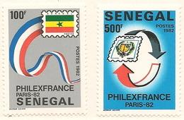 SÉNÉGAL Scott 575-576 Yvert 583-584 (2) ** 1982 Cote 5,2$ - Sénégal (1960-...)