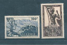 Colonie Algérie De 1955/56  N°331 Et 332  Neufs ** - Ungebraucht