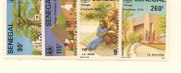 SÉNÉGAL Scott 609-612 Yvert 603-606 (4) ** 1984 Cote 5,50$ - Sénégal (1960-...)