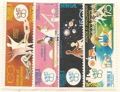 SÉNÉGAL Scott 641-644 Yvert 635-638 (4) ** 1985 Cote 5,25$ - Sénégal (1960-...)