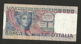 ITALIA - BANCA D´ ITALIA - 50000 Volto Di Donna (Decr. 12 / 06 / 1978 - Firme: Baffi / Stevani) - [ 2] 1946-… : Repubblica
