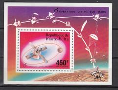Uppervolta Haute-Volta 1973,1V In Block,aerospace,ruimtevaart,luft Und Raumfahrt,de L'aérospatiale ,MNH/Postfris(L2944)