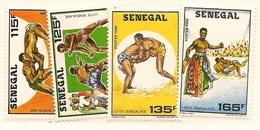 SÉNÉGAL Scott 747-750 Yvert 728-731 (4) ** 1987 Cote 5,25$ - Sénégal (1960-...)