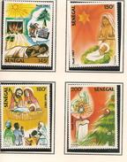 SÉNÉGAL Scott 757-760 Yvert 738-741 (4) ** 1987 Cote 6,50$ - Sénégal (1960-...)