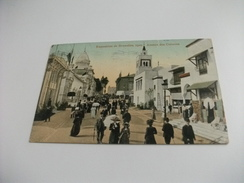 ESPOSIZIONE EXPOSITION DE BRUXELLES 1910 AVENUE DES COLONIES - Esposizioni
