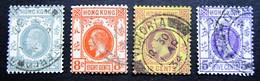B1654 - Hong Kong  - 1931-37 - Mich. 127-131 - WM 4 - Hong Kong (...-1997)