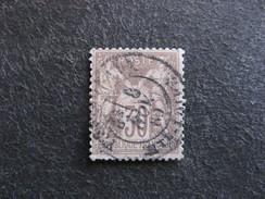 A). N° 69 A Brun Foncé Sur Brun Pale, Oblitéré. 1° Choix. - 1876-1878 Sage (Type I)