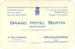 Grand Hôtel Bertin 15 Et 17 Boulevard Maréchal-Foch Draguignan - Draguignan