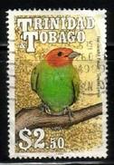 Bird, Bay Headed Tanager, Trinidad & Tobago Stamp SC#516 Used - Trinité & Tobago (1962-...)