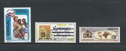 SÉNÉGAL Scott 744, 779, 784 Yvert 761, 762, 767 (3) ** Cote 5,20$ 1988 - Sénégal (1960-...)