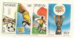 SÉNÉGAL Scott 775-778 Yvert 758-761 (4) ** 1988 Cote 4,75$ - Sénégal (1960-...)