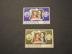 GRENADA - 1972 NOZZE  2 VALORI - NUOVI(++) - Grenada (...-1974)