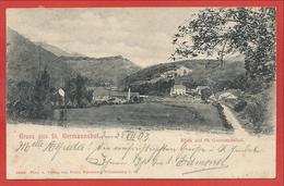 Pfalz - GRUSS Aus St. GERMANSHOF ( GERMANNSHOF ) Bei WEISSENBURG - WISSEMBOURG - Stempel Posthilfstelle - Sin Clasificación