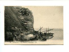 Cp - ETRETAT (76) - Les Pêcheurs D'Eperlans - Etretat