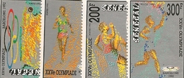 SÉNÉGAL Scott 1008-1011 Yvert 989-992 (4) ** 1992 Cote 7,50$ - Sénégal (1960-...)