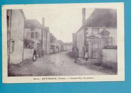 CPA Grande Rue BUTTEAUX 89 - Autres Communes
