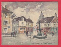 218164 / Artist ?? -  VIEUX 5 OUEN LA PLACE D'ARMES , PARIS , France Frankreich Francia - Paintings