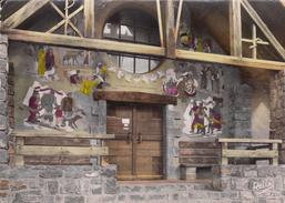 G , 06 , VALBERG (alt. 1700 M.) , Sanctuaire De Notre-Dame Des Neiges , Le Porche (Fresque De Cassarini) - Frankrijk