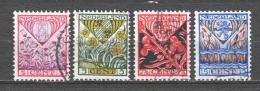 Netherlands 1927 NVPH 208-211 Canceled (1) - 1891-1948 (Wilhelmine)
