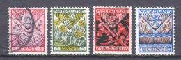Netherlands 1927 NVPH 208-211 Canceled (2) - 1891-1948 (Wilhelmine)