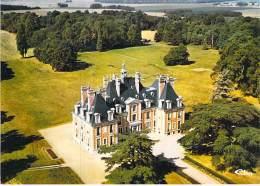 77 - NAINVILLE LES ROCHES ( Lot De 2 CPM GF )  Le Chateau (C.N.E.P.C.)  Seine Marne - Sonstige Gemeinden