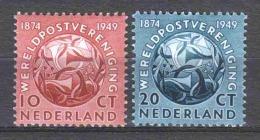 Netherlands 1949 NVPH 542-543 MNH UPU - Periode 1949-1980 (Juliana)