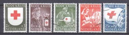 Netherlands 1953 NVPH 607-611 Canceled - 1949-1980 (Juliana)
