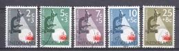 Netherlands 1955 NVPH 661-665 Canceled - 1949-1980 (Juliana)