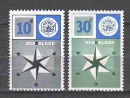 Netherlands 1957 NVPH 700-701 MNH EUROPA CEPT - 1957