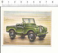 Chromo Cigarettes Virginia Full Speed / Voiture Automobile Landrover 1952 ( Jeep ) Land Rover  / IM 01-car-5 - Cigarrillos