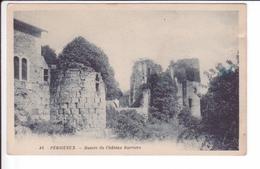 CPA N° 45 -  PERIGUEUX - Ruines Du Château Barrière - Périgueux