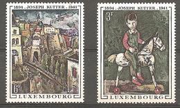Luxembourg 1969 Michel 790 - 791  Neuf ** - Luxemburgo