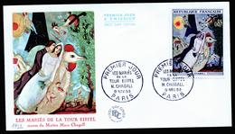 A4448) France Frankreich FDC 9.11.63 Mi.1452 - FDC