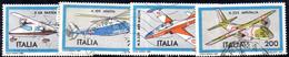 XP1651 - REPUBBLICA 1981, Serie Usata . AEREI AEREOPLANE - 6. 1946-.. Repubblica