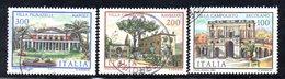 XP1660 - REPUBBLICA 1981, Serie Usata . VILLE - 6. 1946-.. Repubblica