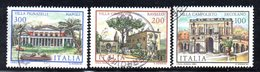 XP1660 - REPUBBLICA 1981, Serie Usata . VILLE - 6. 1946-.. Republik