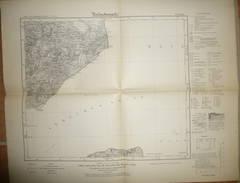 Karte Des Deutschen Reiches 1-cm-Karte - 84 Grömitz - Umdruckausgabe! 1930 - Karten