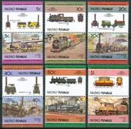 1984 Niutao (Tuvalu) Trains Treni Railways Locomotive Locomotives Set MNH** B413 - Tuvalu