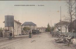 CPA:Charavines-Les-Bains:La Gare - Charavines