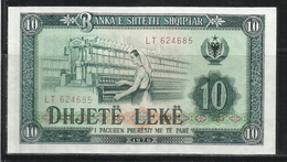 ALBANIA 1976 BANCONOTA BANKNOTE BILLET LEKE 10 LEK - Albania