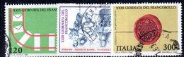 XP1671 - REPUBBLICA 1981, Serie Usata . GIORNATA FRANCOBOLLO - 6. 1946-.. Repubblica