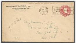 Stati Uniti/United States/États-Unis: Intero, Stationery, Entier, George Washington